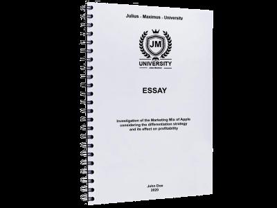 Essay binding printing spiral plastic binding