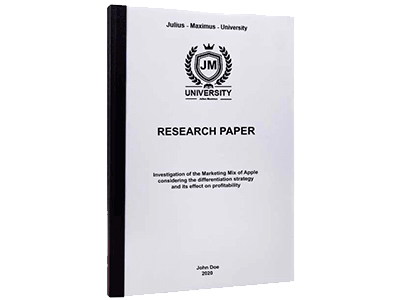 Research Paper thermal binding black