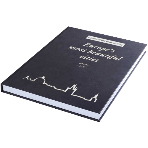 book printing binding standard leather binding