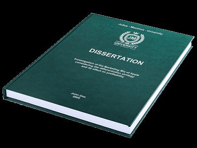 dissertation printing binding leather binding green silver