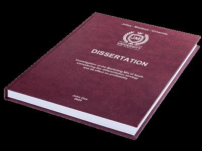 dissertation printing binding leather binding red silver