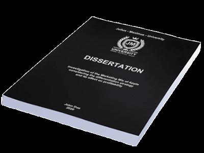 dissertation printing binding softcover black