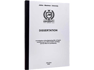 dissertation printing binding thermal binding black