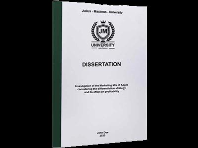 dissertation printing binding thermal binding green