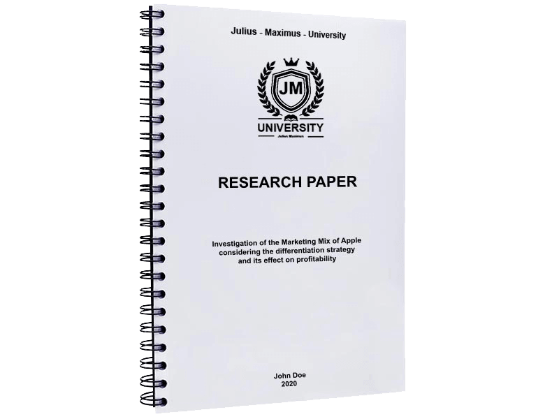 research paper printing spiral binding metal