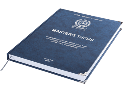 thesis premium binding blue