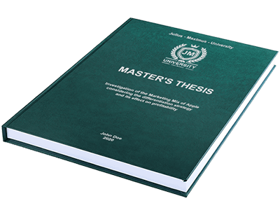 thesis premium binding green