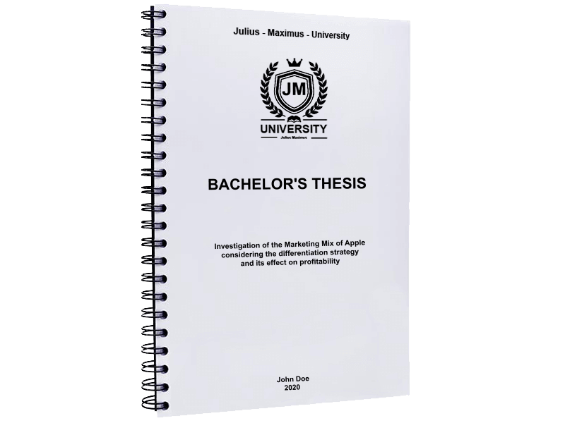 thesis printing binding black spiral