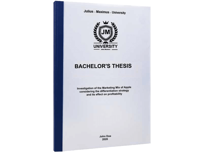thesis printing binding thermal binding