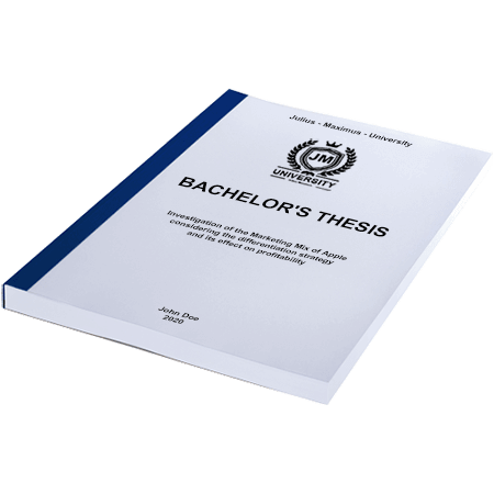 thesis thermal binding blue