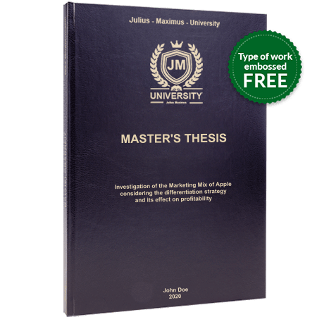 thesis printing binding leather binding black standard