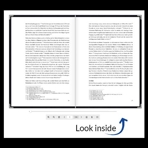 Book binding look inside standard leather binding