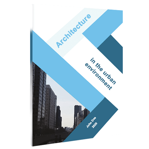 Softcover design architecture