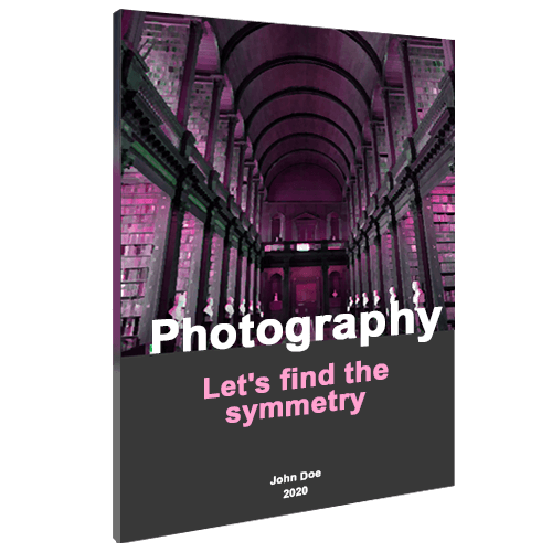 Softcover design photography