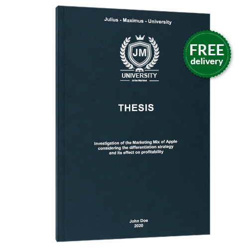 Thesis printing premium leather book binding