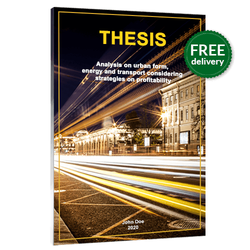 thesis printing softcover