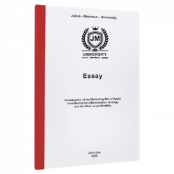 cover page essay printing & binding