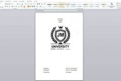 dissertation topics title page