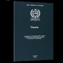 quantitative research thesis printing & binding