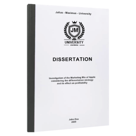 dissertation binding Dublin