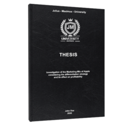 PESTEL analysis thesis printing