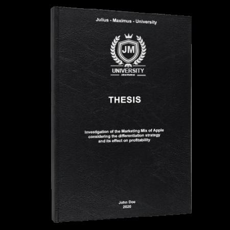 Thesis printing Madrid
