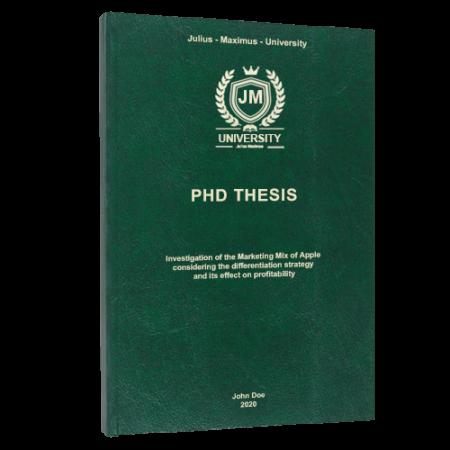 dissertation printing Vienna