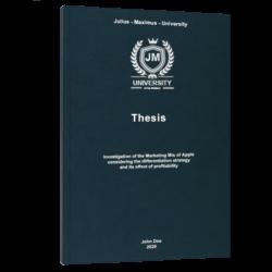 ABC Analysis thesis printing binding