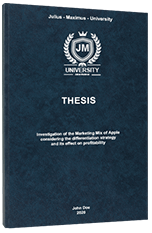 Operationalization Thesis Printing & Binding