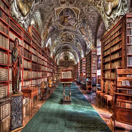 study in the czech republic prague library