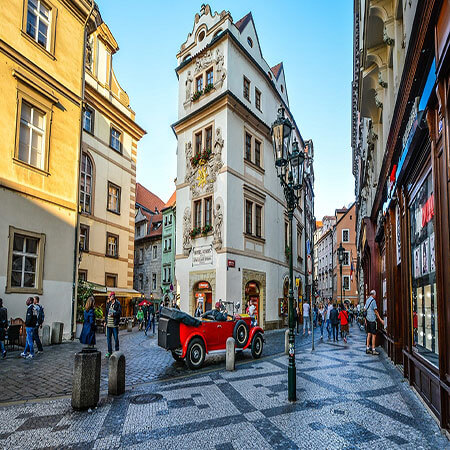 study in the czech republic prague old city