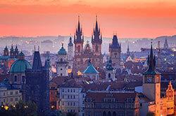study in the czech republic skyline