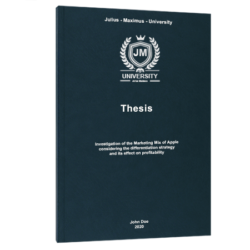 How to write a Hypothesis thesis printing & binding