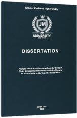 Inductive Dissertation Printing & Binding